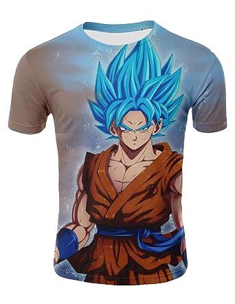 Camiseta Dragon Ball Niño 3D Impresión Unisex Hombres Mujer Camisetas y Camisas Deportivas Camisetas de Manga Corta T Shirt Dibujos Animados de Fans ...