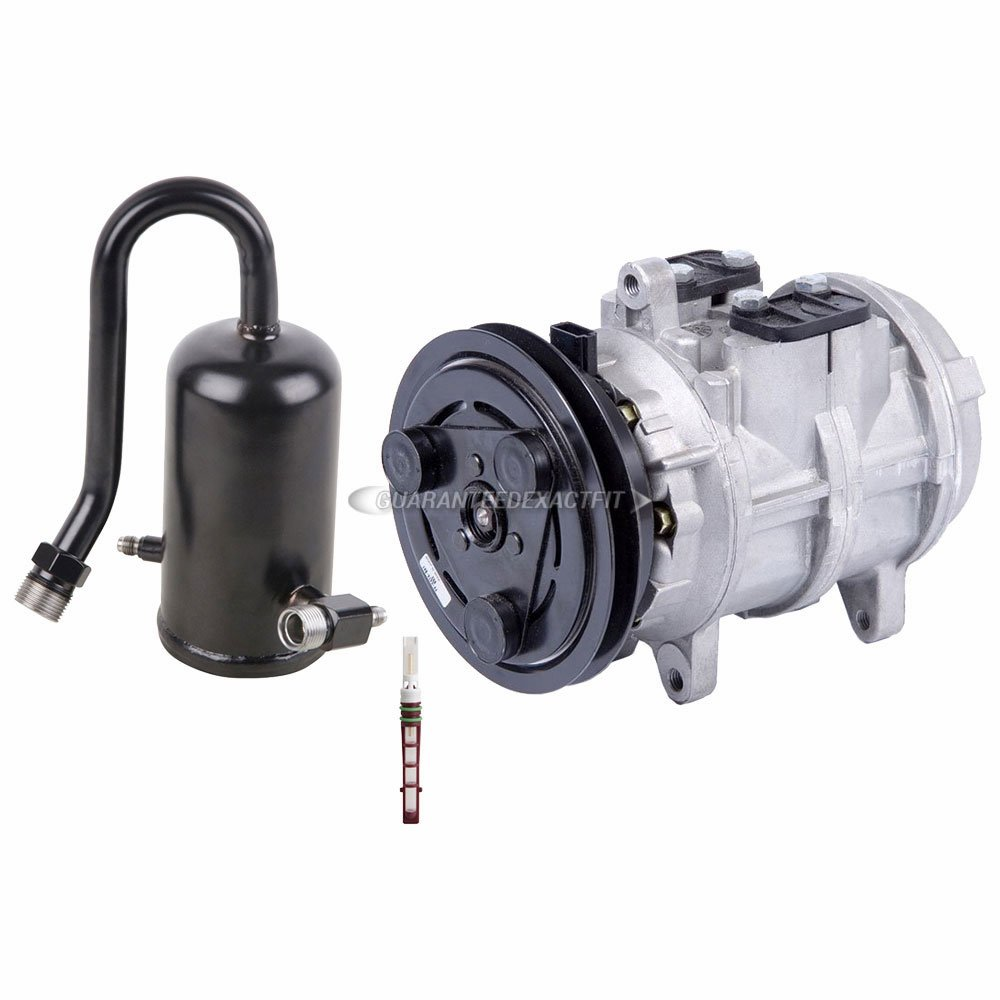 AC Compressor w//A//C Drier /& Exp For Ford F100 F150 F250 F350 /& Bronco BuyAutoParts 60-82018RS New