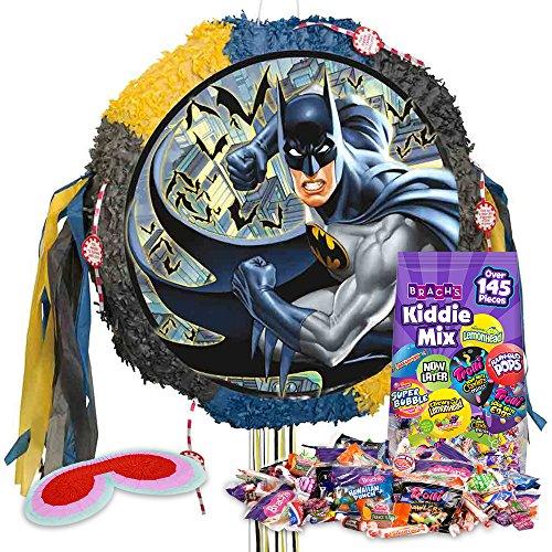 [Batman Drum Pinata Kit] (Pinata And Bat Costume)