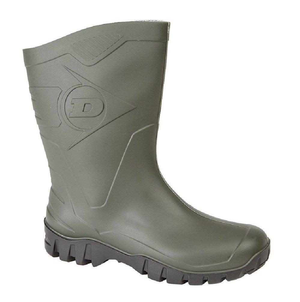 Dunlop - Pluie De Chaussures Et De Jardinage, Vert, Mens Dunlop - Taille 9 Uk / Eu 43 - Vert