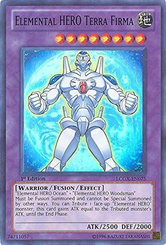 elemental hero terra firma lcgx-en075 Yu-gi-oh