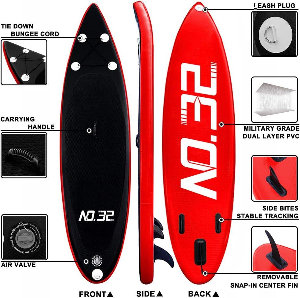 SUP Leash Stand Up Paddle Board Leash Wellenreiten Surfbrett Leine