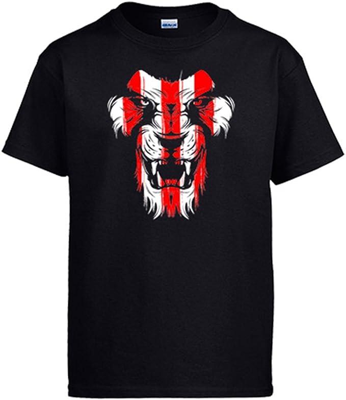 Diver Camisetas Camiseta Athletic león Cara Colores Bilbao: Amazon ...