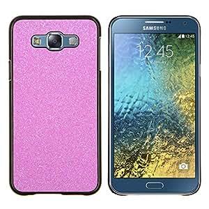 Stuss Case / Funda Carcasa protectora - Mousseux diamant en plastique - Samsung Galaxy E7 E700