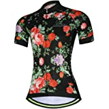 Womens Cycling Jersey Aogda Short Sleeve 3d Silicon Padded Girls Bib Shorts Bicycle Bike Cycle Clothing Wear/Shirt D914