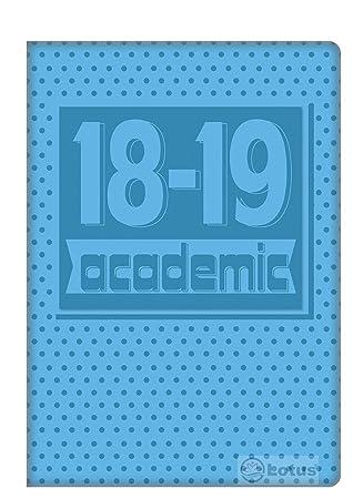 2018-2019 A5 Agenda scolaire Flexi en relief Coque WTV ...