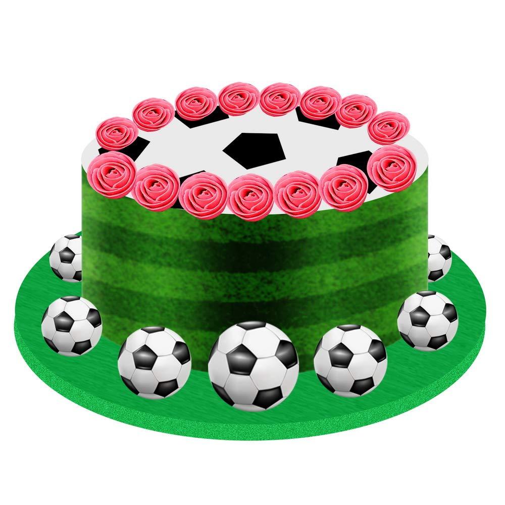 Fliyeong Premium Fussball Fondant Kuchen Dekorieren Form