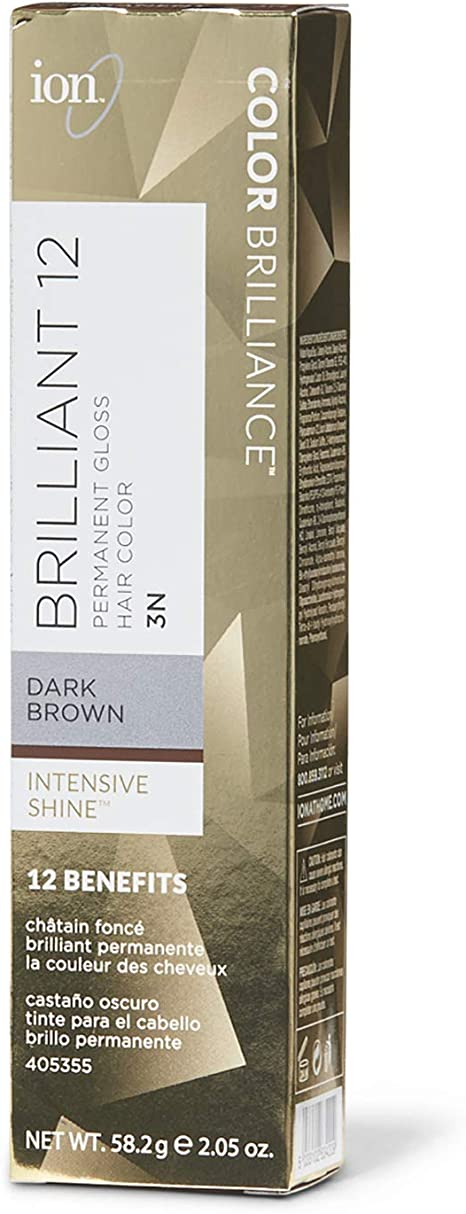 Ion Color Brilliance Brilliant 12 Ultra Gloss 3N Dark Brown by Ion