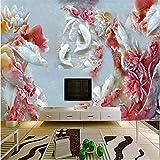 350cmX245cm papel de parede Custom 3D stereoscopic large mural wallpaper TV background wallpaper sofa mural,350cmX245cm