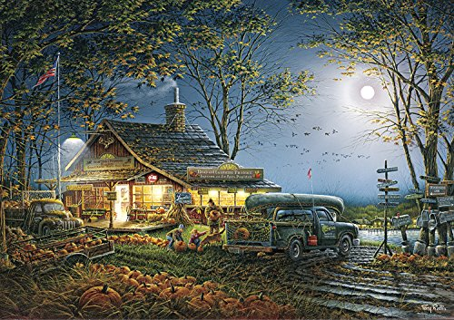 Buffalo Games - Terry Redlin - Autumn Traditions - 300 Large Piece Jigsaw Puzzle