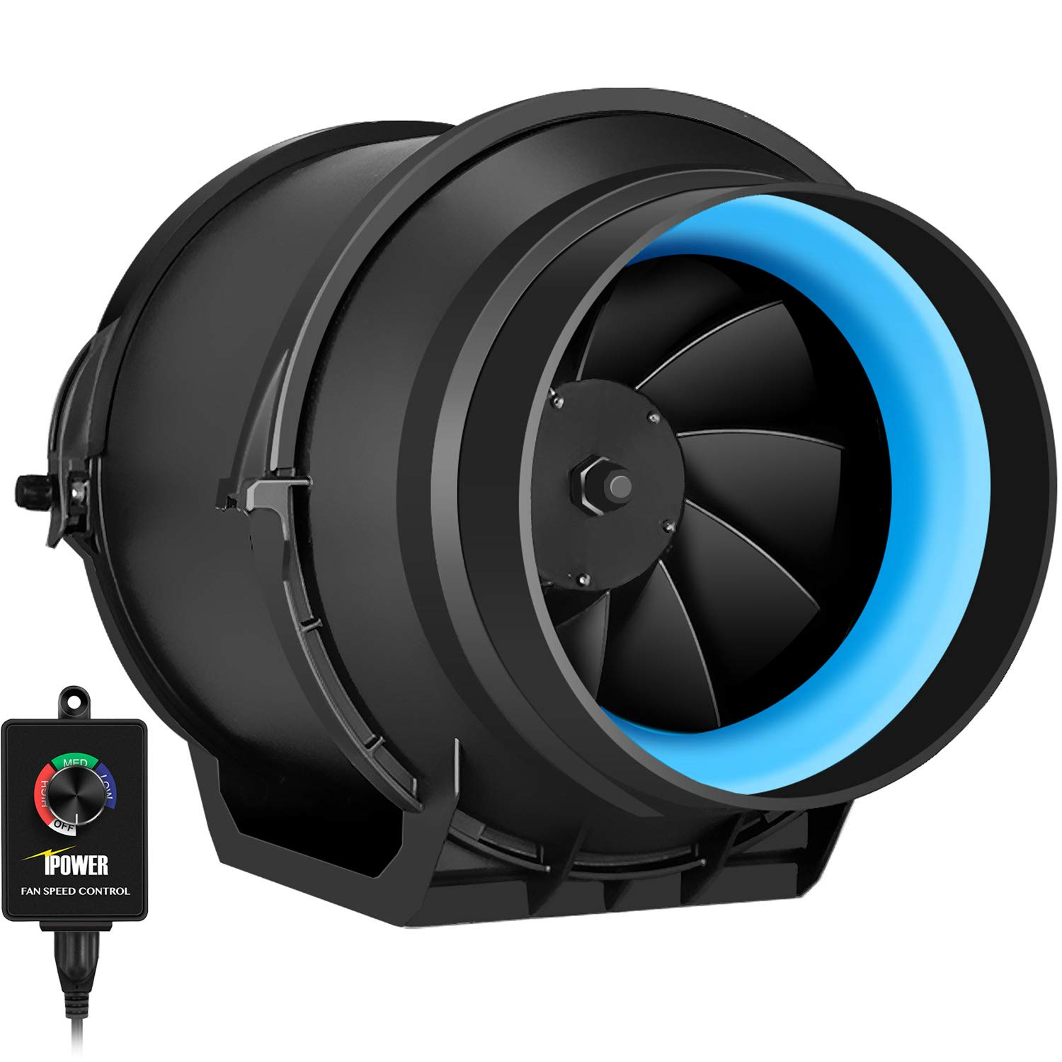 iPower's 6 inch inline duct fan