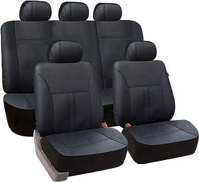 Autositzbezüge Kia Carens IV ab 13 5-Sitze Schwarz PKW Schonbezug Sitzauflage