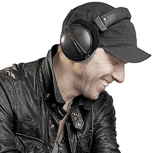 619HCh7d7vL - beyerdynamic DT 770 Pro 80 Limited Edition Headphones, Black