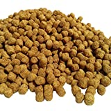 Pellets, AF 7/32''-1/4'' Floating Koi & Pond Fish Food. With Samples of Freeze Dried Krill & Silk Worms included...51-lbs