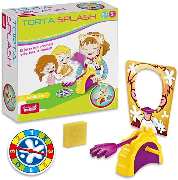 JUINSA Juego Torta Spalsh + 5 años 96204: Amazon.es: Juguetes y juegos