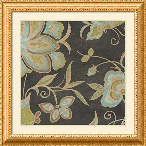 Heirloom Floral II by June Erica Vess Framed