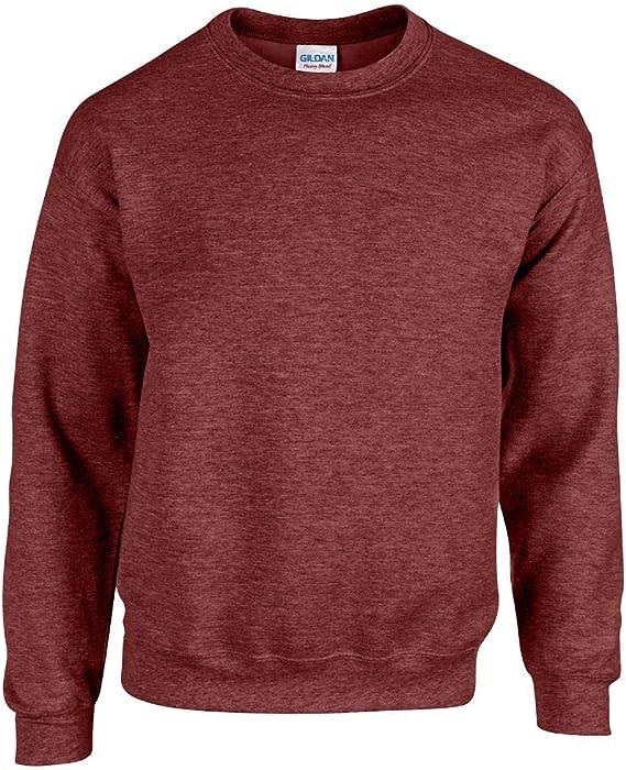 Gildan Ultra Blend 50//50 Cotton//Poly Sweatshirt 2XL Forest Green
