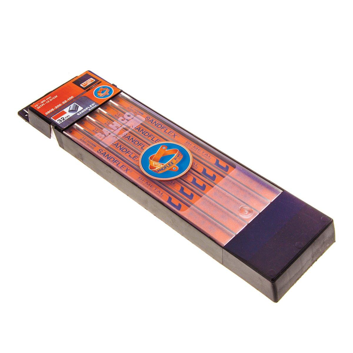 Bahco 3906-300-24-2P Lames de scie à métaux 30 cm x 24 TPI (Import Grande Bretagne)
