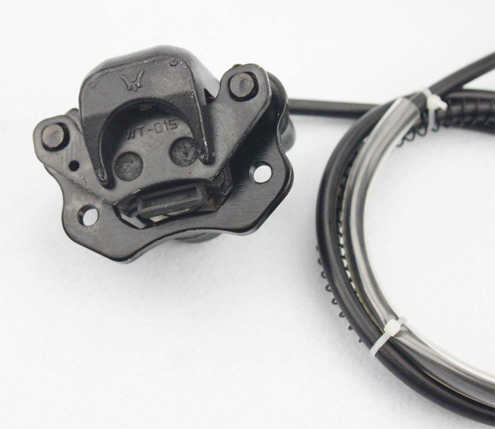 GOOFIT freno de disco trasero Cilindro maestro Asamblea de pinza hidr/áulica para chino 50cc 70cc 90cc 110cc 125cc 200cc 250cc ATV Quad