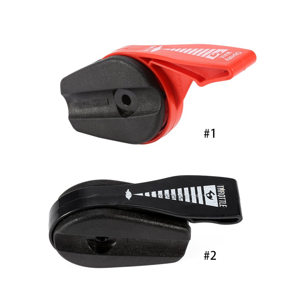 Universal 65 Throttle Cable Switch Lever Control Handle Kit for Lawn Mower Electric Petrol Lawnmowers(Red) Zerodis