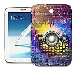 Phone Case For Samsung Galaxy Note 8.0 N5100 - Music DJ Trance Back Premium wangjiang maoyi