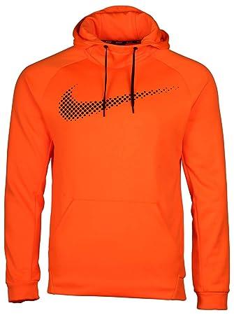 Nike THERMA Dri-Fit Active Training Pullover, orange, 886066245612 ... 3121dc4a7e