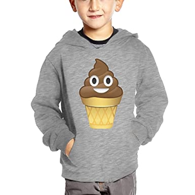 Amazoncom Joapron Cute Poop Emoji Ice Cream Kids Long Sleeve