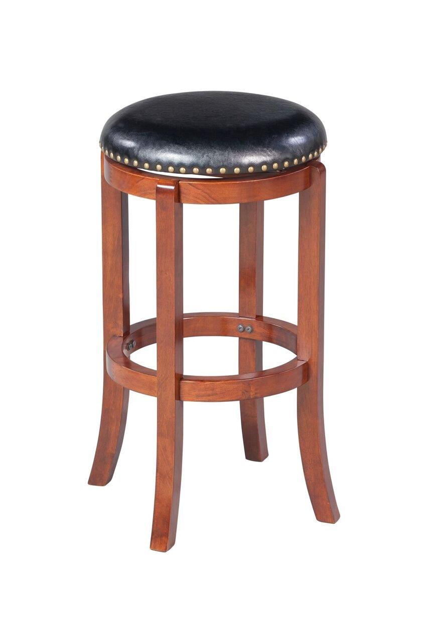 Boraam 33229 Cordova Bar Height Swivel Stool, 29-Inch, Cherry