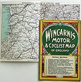 Wincarnis Motor  Cyclist Map of England Amazoncouk Various Books