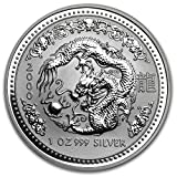 2000 AU Australia 1 oz Silver Year of the Dragon BU 1 OZ Brilliant Uncirculated