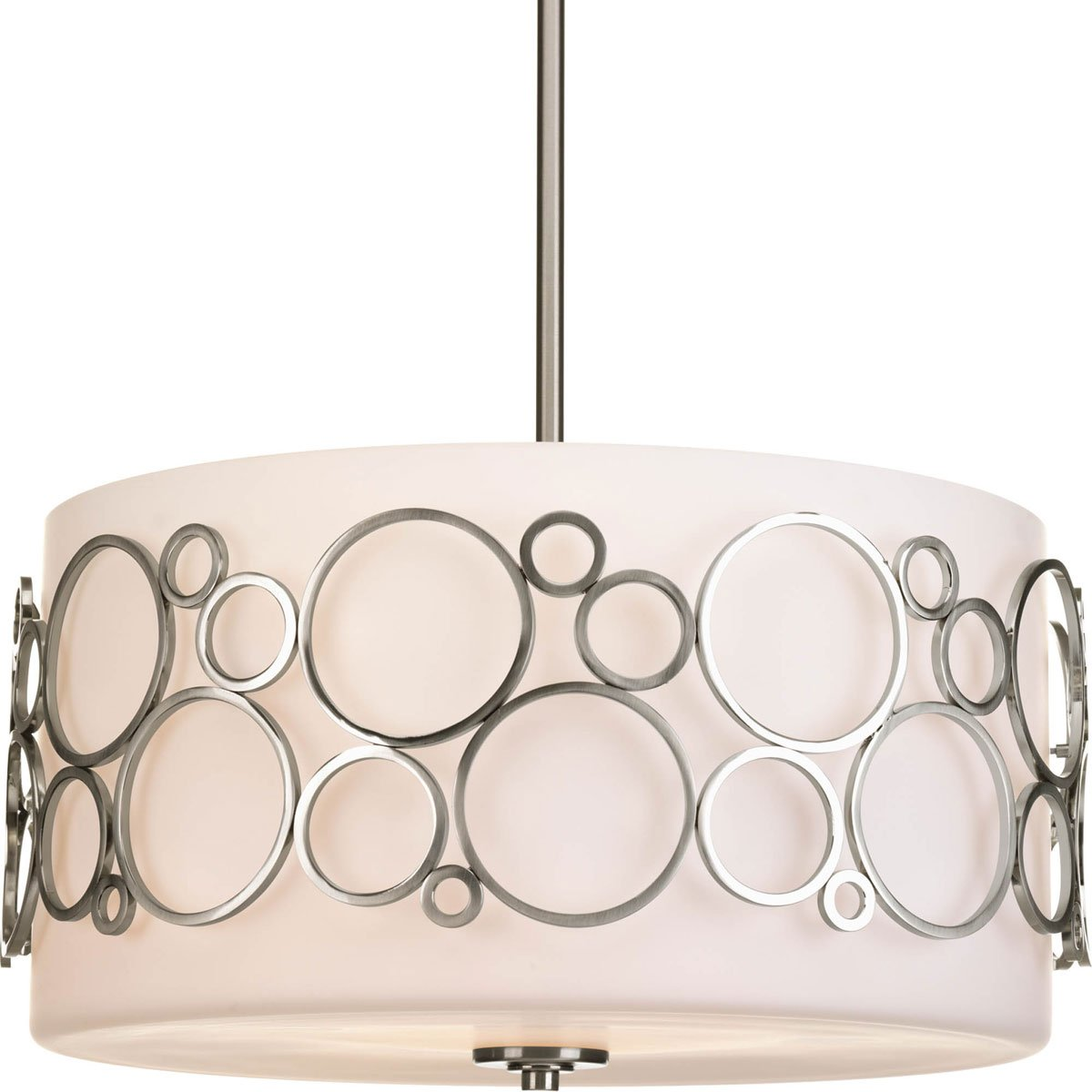 Progress Lighting P5014-09 Three-Light Large Pendant by Progress Lighting