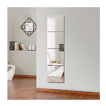 Amazonde Ardisle Set Mit Selbstklebenden Spiegelfliesen Zum - Spiegel fliesen anbringen