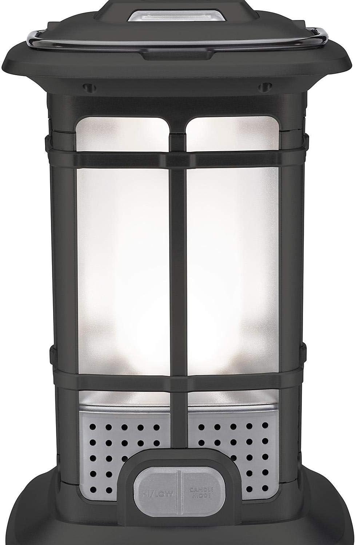 1000 Lumen Multi Use LED Lantern Patio Camping High Low & Candlelight Mode