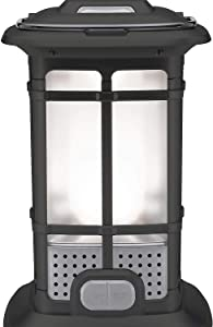 1000 Lumen Multi Use LED Lantern Patio Camping High Low & Candlelight Mode