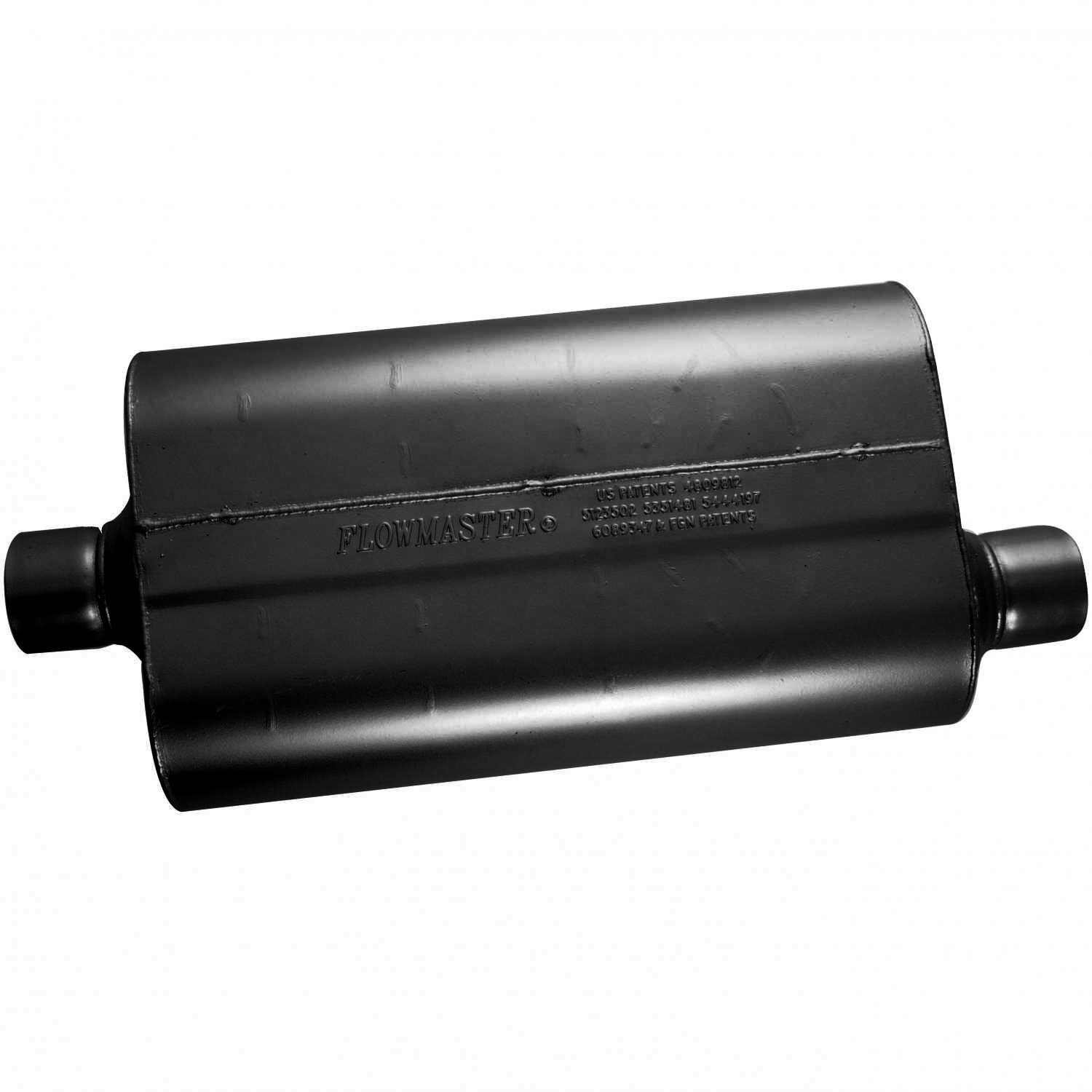 Flowmaster 52557 Super 50 Muffler - 2.50 Center IN / 2.50 Offset OUT - Moderate Sound by Flowmaster (Image #2)