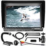 Neewer® NW759 7 Inch HD Camera Monitor Charging Kit, 1280x800 IPS Screen Camera Monitor + DV Bracket + USB Battery Charger + F550 Replacement Battery for Sony Canon Nikon Olympus Pentax Panasonic