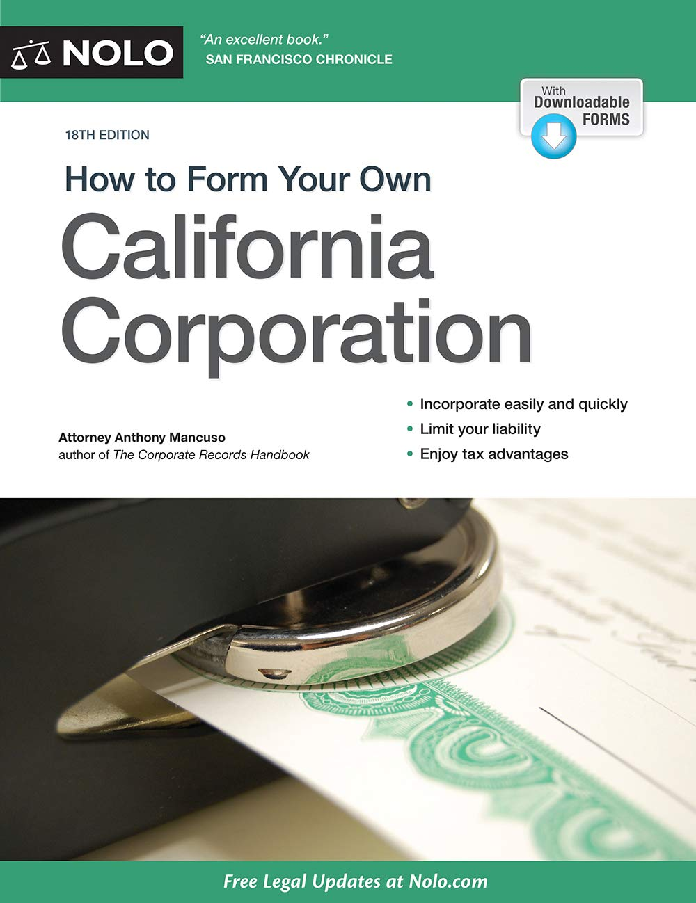 Buy How to Form Your Own California Corporation: Includes