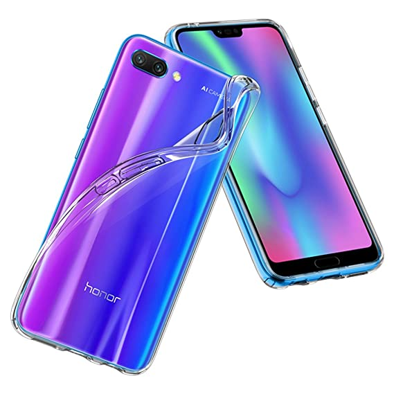 new products 4d847 97802 Spigen Liquid Crystal Designed for Huawei Honor 10 Case (2018) - Crystal  Clear