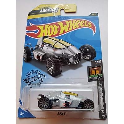 Hot Wheels 2020 Hw Dream Garage 2 Jet Z, 1/250 Silver: Toys & Games