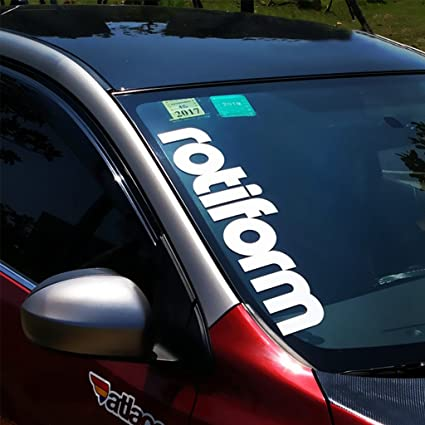 Kaizen windshield sticker rotiform funny jdm vinyl banner decal window decals for volkswagentoyota