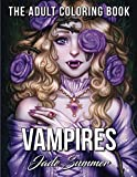 Vampires: An Adult Coloring Book with Sexy Vampire Women, Dark Fantasy Romance, and Haunting Gothic Scenes for Relaxation by  Jade Summer in stock, buy online here
