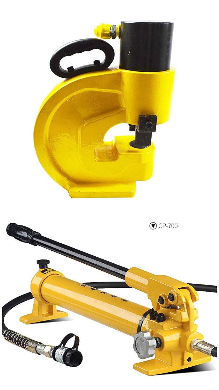 CGOLDENWALL CH-60  CH 70油圧 パンチャー バスバーパンチドラバ  4個ダイス  CP-700ポンプ付 (CH 70) B074W1B87S