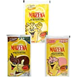 Maizena Mix Atole Vanilla, Chocolate, Strawberry 6 pack