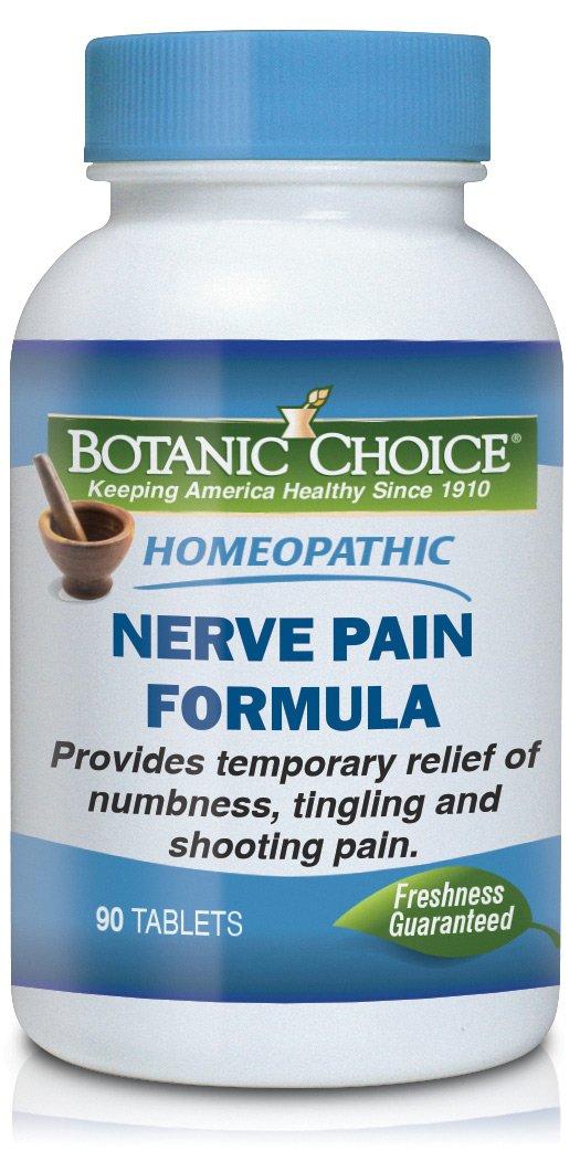 Botanic Choice Nerve Pain, 90 Tablets (Pack of 12)