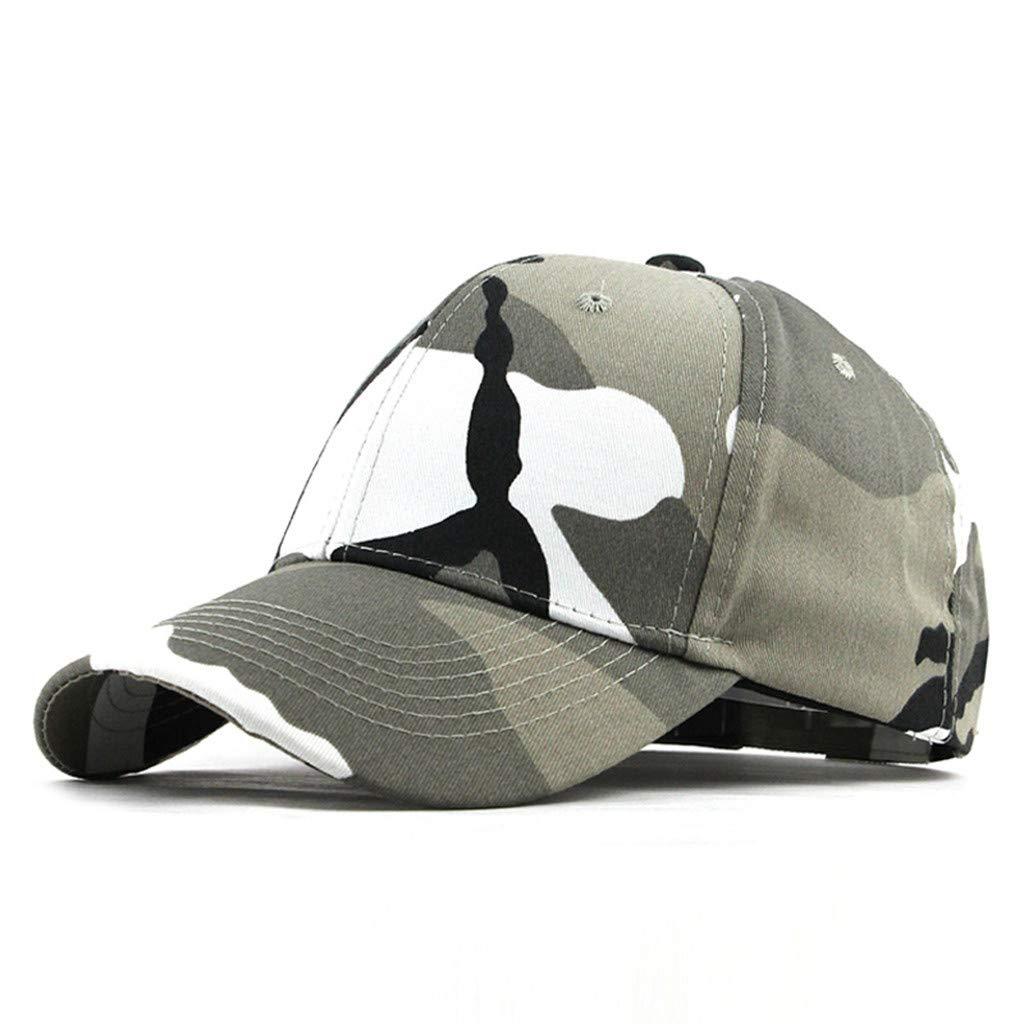 LOPILY Gorra de béisbol de Camuflaje Sombreros de Hip Hop ...