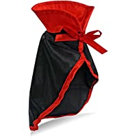 LAWOHO Pet Halloween Costume - Vampire Cloak for Holiday Cosplay Party Pet Apparel Suit Cute Kitten Puppy Cape Clothes…
