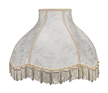 Aspen creative 30043 transitional scallop bell shape spider aspen creative 30043 transitional scallop bell shape spider construction lamp shade in beige 17quot aloadofball Image collections