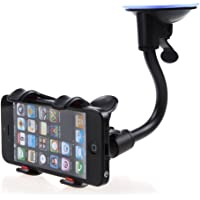 SellnShip Generic Mystique Soft Tube Car Mobile Holder With Suction Cup