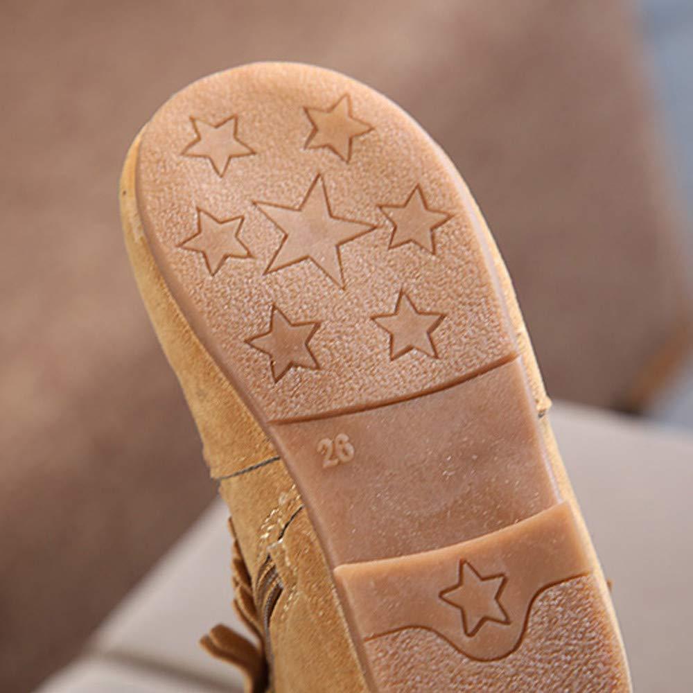 ❤ Botas de borlas Cortas para niñas, Niños Bebé Niños Niñas Niños Borla Fringe de Invierno Boots Botas de Nieve Zapatos Absolute: Amazon.es: Ropa y ...