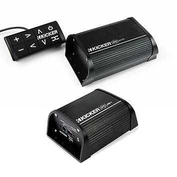 Kicker 40pxibt502 Bluetooth receptor con 200 W Mono Amplificador